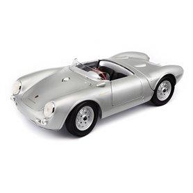 Maisto 31843 Porsche 550A Spyder Silver
