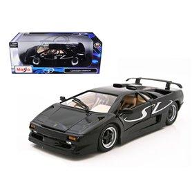Maisto 31844 Lamborghini Diablo Sv, svart