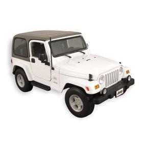 Maisto 31662 Jeep Wrangler Sahara, vit
