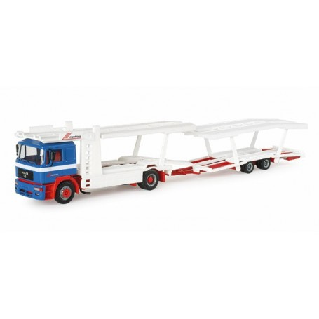 "Herpa 153218 MAN F2000 car transporter vehicle ""Riwatrans"""