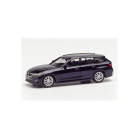 Herpa 430821 BMW 3er Touring, tansanit blue metallic
