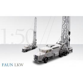 """Conrad 10420 Faun Lastbil med borrtorn """"Jubileumsmodell 2006"""""""