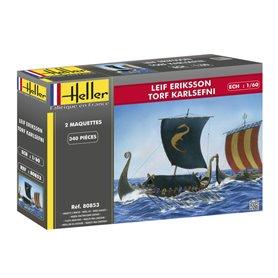 Heller 80853 Vikingskepp Leif Eriksson & Torf Karlsefni