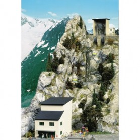 """Brawa 6341 Byggsatser för linbana 6340 """"Nebelhorn"""""""