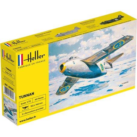 Heller 80260 Flygplan SAAB Tunnan J29