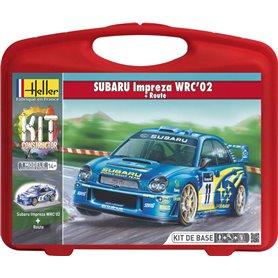 "Heller 60199 Subaru Impreza WRC 02 ""Gift Set"""