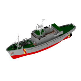 "Türkmodel 129 FBV WESTRA- R/C ""Scottish Fisher Protection Vessel"""