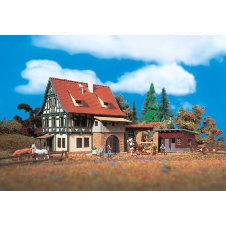 Vollmer 7715 Gårdshus med utbyggnad