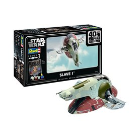 "Revell 05678 Star Wars Slave I-40th Anniversary ""The Empire strikes back"" ""Gift Set"""
