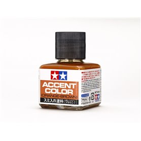 Tamiya 87209 Panel Line Accent Color (Orange-Brown) 40 ml