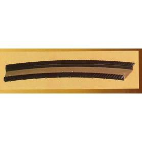Vollmer 4043 Brobana, böjd, för 910 mm radie, längd 229 mm, 1 st