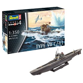 Revell 05154 German Submarine Type VII C/41