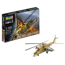 Revell 04951 Helikopter Mil Mi-24D Hind