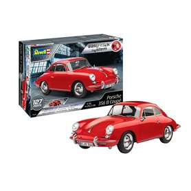 """Revell 07679 Porsche 356 Coupe """"Easy Click System"""""""