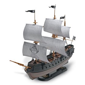 "Revell 1971 The Black Diamond Pirate Ship ""Snap Tite"""