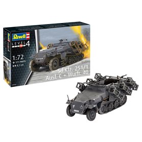 Revell 03324 Sd.Kfz. 251/1 Ausf. C + Wurfr. 4