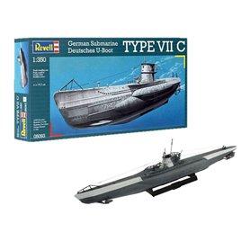 Revell 05093 Ubåt German Submarine TYPE VII C