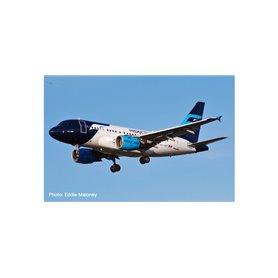 Herpa Wings 534772 Flygplan Mexicana de Aviación Airbus A318 – XA-UBT