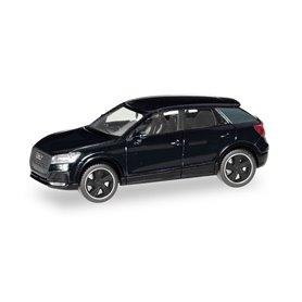 Herpa 420877 Audi Q2 Black Edition, brilliant black