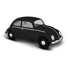 Busch 52902 VW beetle with pretzel window, black, 1952