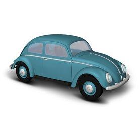 Busch 52950 VW beetle with oval window, blue, 1955