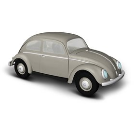 Busch 52951 VW beetle with oval window, gray, 1955