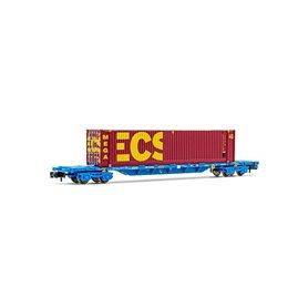 """Arnold HN6442 Flakvagn RENFE med last av 45' container """"MMC ECS BULK"""""""