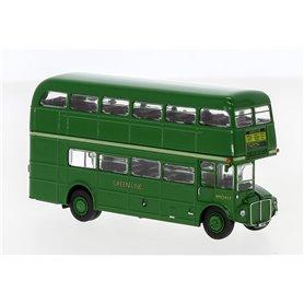 Brekina 61101 Buss Routemaster Dubbeldäckare London, grön (Umland)