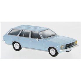 Brekina 870021 Opel Rekord D Caravan, ljusblå, 1972