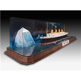 """Revell 05599 RMS Titanic + 3D Puzzle (Iceberg) """"Easy-Click System"""""""