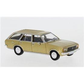 Brekina 870023 Opel Rekord D Caravan, gold, 1972, PCX