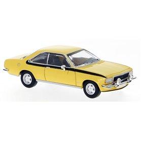 Brekina 870037 Opel Commodore B Coupé, gul, PCX