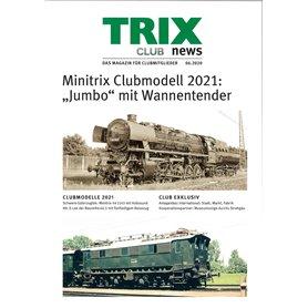 Trix CLUB62020T Trix Club 06/2020, magasin från Trix, 23 sidor i färg, Tyska