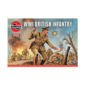 """Airfix 00727V Figurer WWI British Infantry """"Vintage Classics"""""""