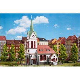 Auhagen 11370 Liten stadskyrka
