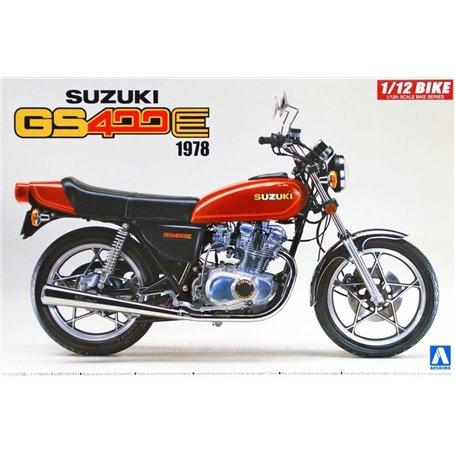 Aoshima 053119 Motorcykel Suzuki GS400E 1978