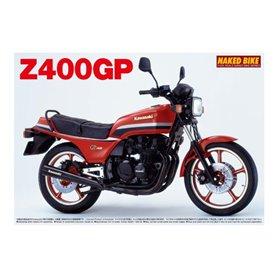Aoshima 049150 Motorcykel Kawasaki Z400GP