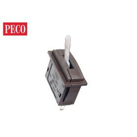 Peco PL-26W Vippkontakt för PL-50, vit switch