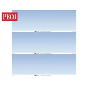 Peco SKP-02 Plain Sky Photographic Backscene