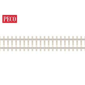Peco SL-302F Flexräls, betongslipers, längd 914 mm