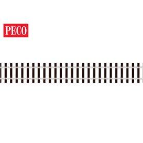Peco SL-700FB Flexräls, spårvidd 32 mm, träslipers, code 143, längd 914 mm