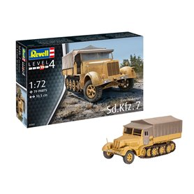 Revell 03263 Sd.Kfz. 7 (Late Production)