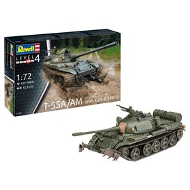 Revell 03328 Tanks T-55A/AM with KMT-6/EMT-5
