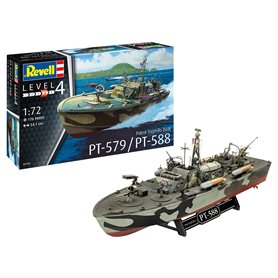 Revell 05165 Patrol Torpedo Boat PT-588/PT-57
