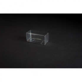 Tåg & Hobby 60 Plastbox, genomskinlig, L60xB25xH28 mm, 1 st