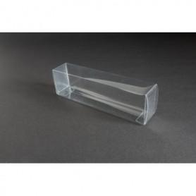 Tåg & Hobby 162 Plastbox, genomskinlig, L162xB32xH46 mm, 1 st