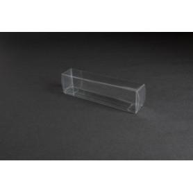 Tåg & Hobby 1301 Plastbox, genomskinlig, L130xB25xH35 mm, 1 st