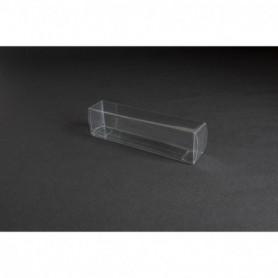 Tåg & Hobby 155 Plastbox, genomskinlig, L155xB25xH35 mm, 1 st