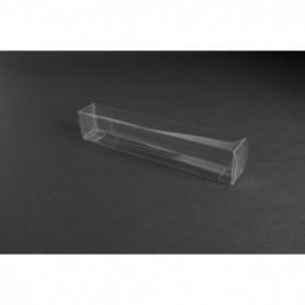 Tåg & Hobby 1801 Plastbox, genomskinlig, L180xB25xH35 mm, 1 st