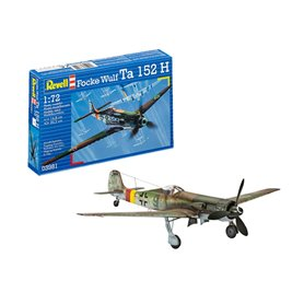 Revell 03981 Flygplan Focke Wulf Ta 152 H